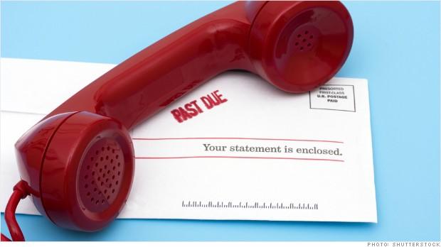Agressive calls from debt collectors