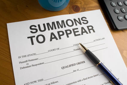 What to do if you're served a summons